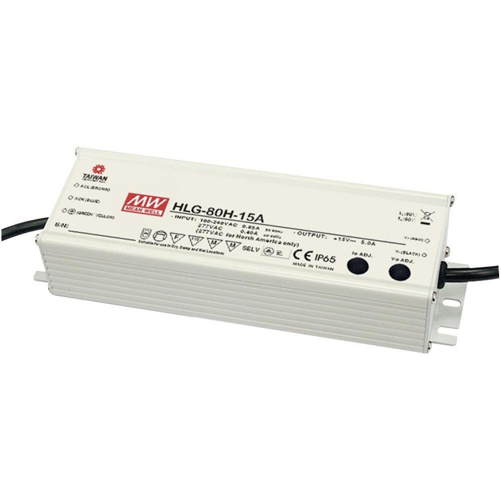 90-305VAC 12VDC 5A 80W
