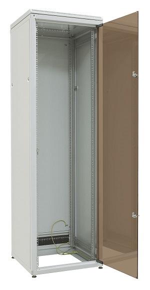 Verkkokaappi 42U L600 S600, lasiovi