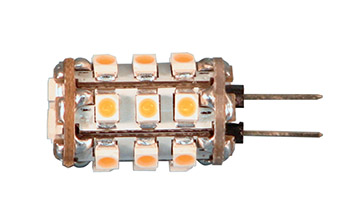 Ledlamppu*G4 12V 100lm 1,5W lämmin