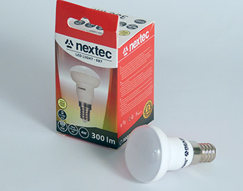Ledlamppu E14 spot 230V 4W 300lm