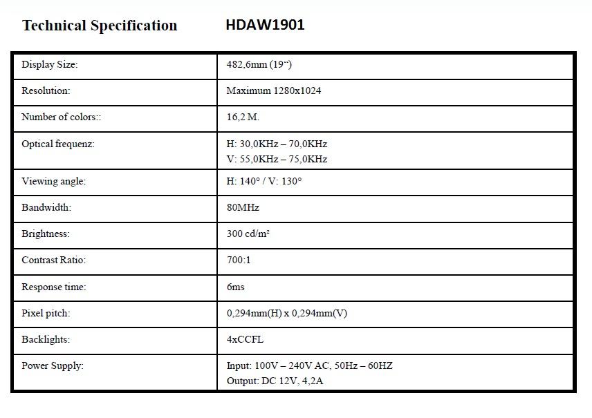 """19"""" LCD-näyttö & näppäimistökonsoli"""
