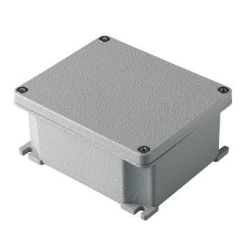Alumiinikotelo 128x103x57