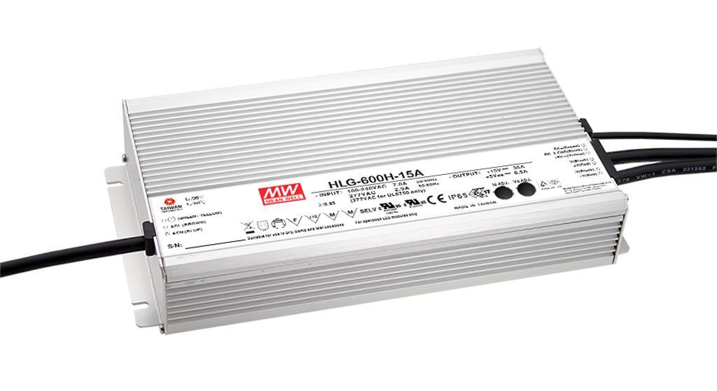 90-305VAC 12VDC 40A 600W himmennys