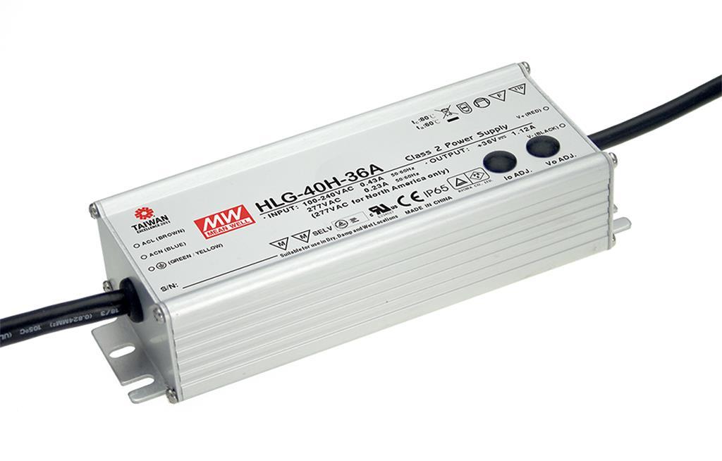 90-305VAC 24VDC 1,67A 40W himmennys