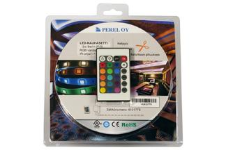 Lednauha sarja RGB 5m 12V 6W/m IP20
