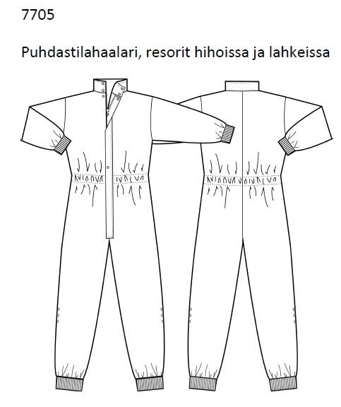 Puhdastilahaalari, XXL