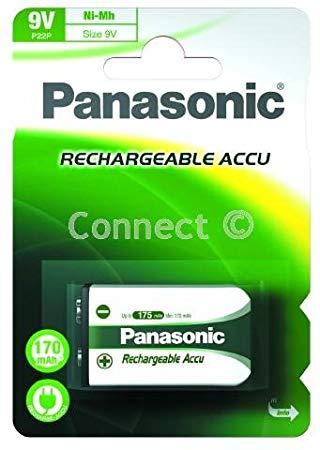 Akku Panasonic 9V 170mAh 1kpl
