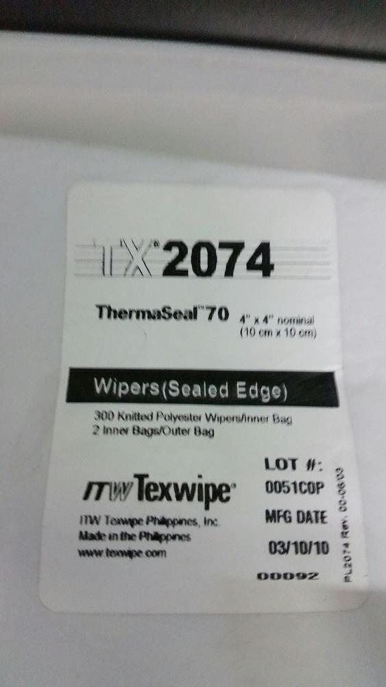 Thermaseal70:10x10cm, 600kpl/pss