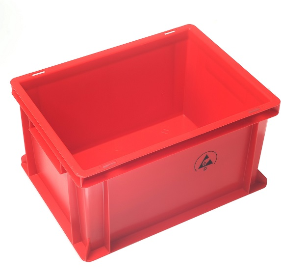 IDP 400x300x320mm, punainen