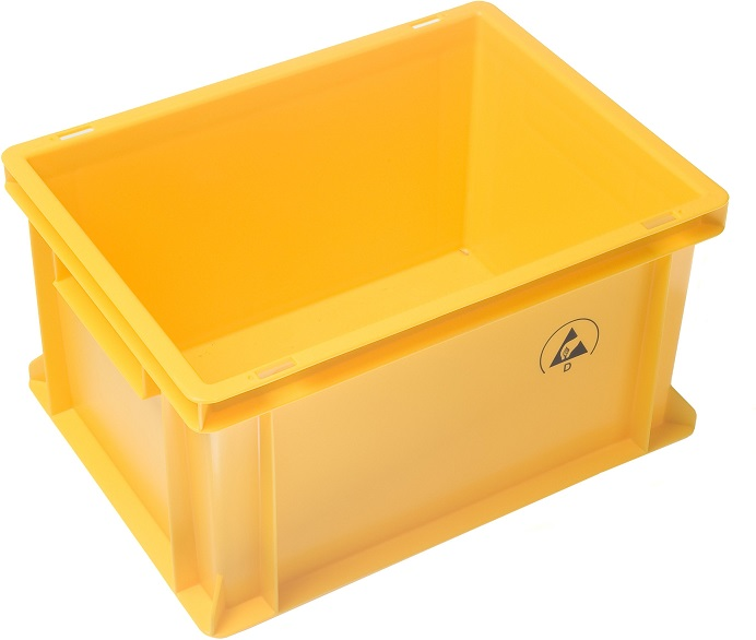 IDP 400x300x320mm, keltainen
