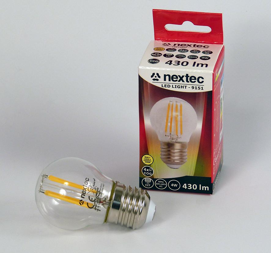 Ledlamppu E-27 230V 4W 430lm 3000K