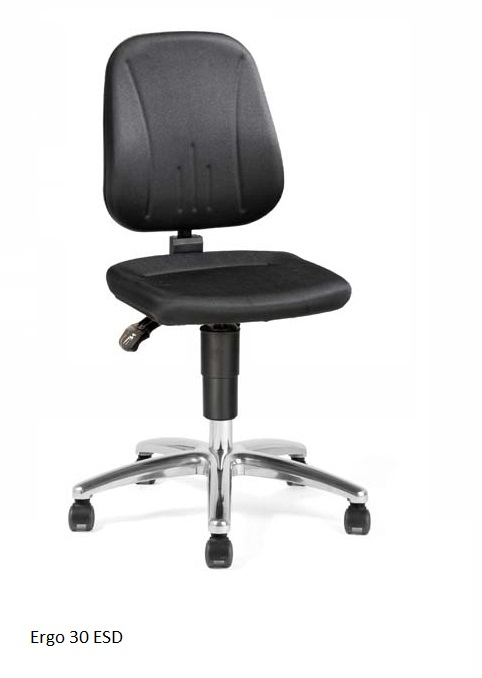 Ergo 30 ESD tuoli, musta