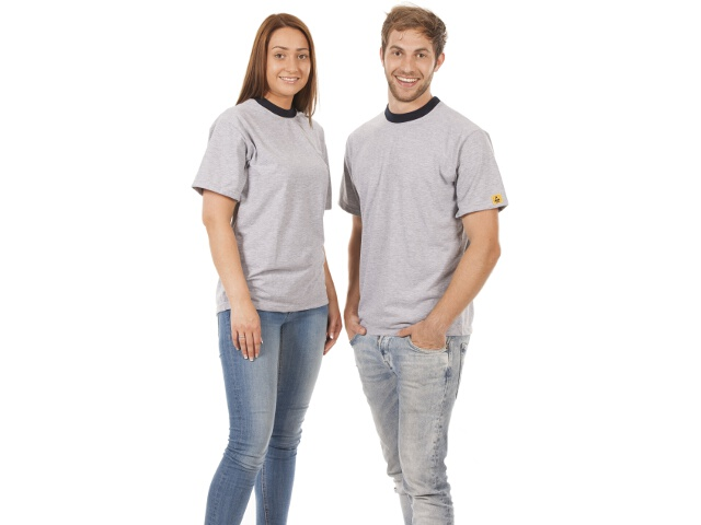 ESD T-paita, harmaa, koko XS