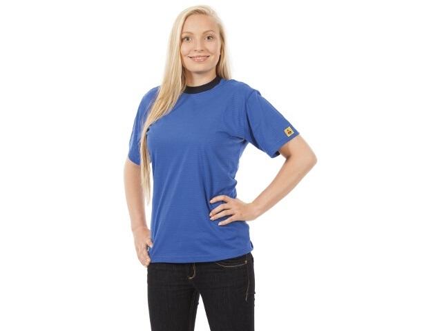 ESD T-paita, sininen, XS