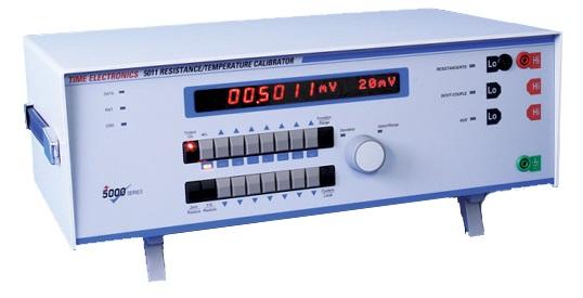 Vastus- ja lämpötilakalibraattori