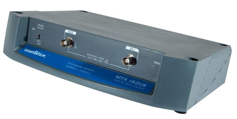 Metrix PC-oskilloskooppi