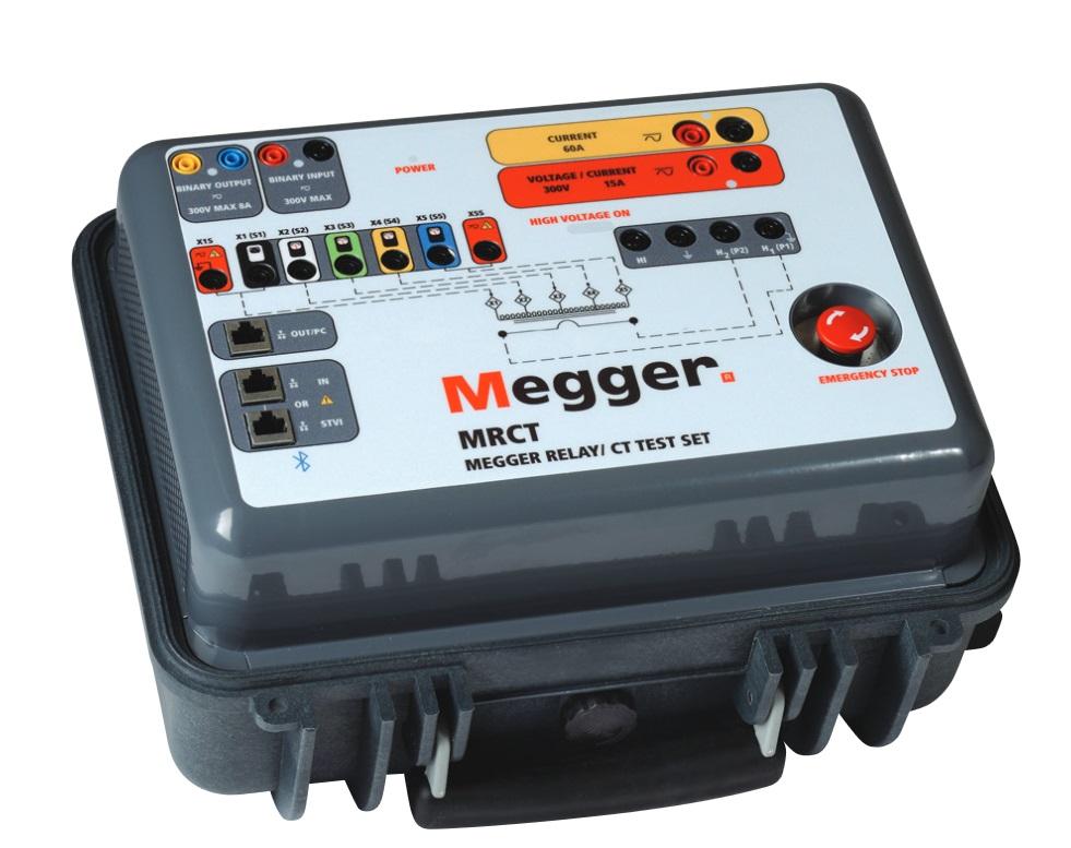 Megger virtamuuntajatesteri MRCT
