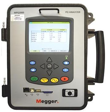 Megger energia-analysaattori