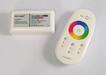 RGBW ohjain 10A 2.4GHz