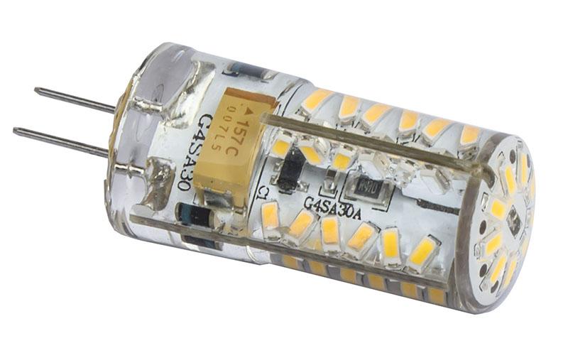 Ledlamppu G4 12V 3W 180lm 3000K