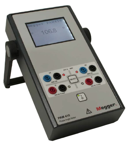PAM410 Phase angle meter w accessor