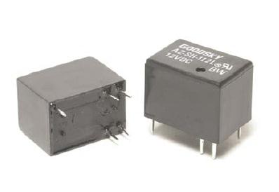 Rele 6VDC Kontakti: 1C 120VAC/1A
