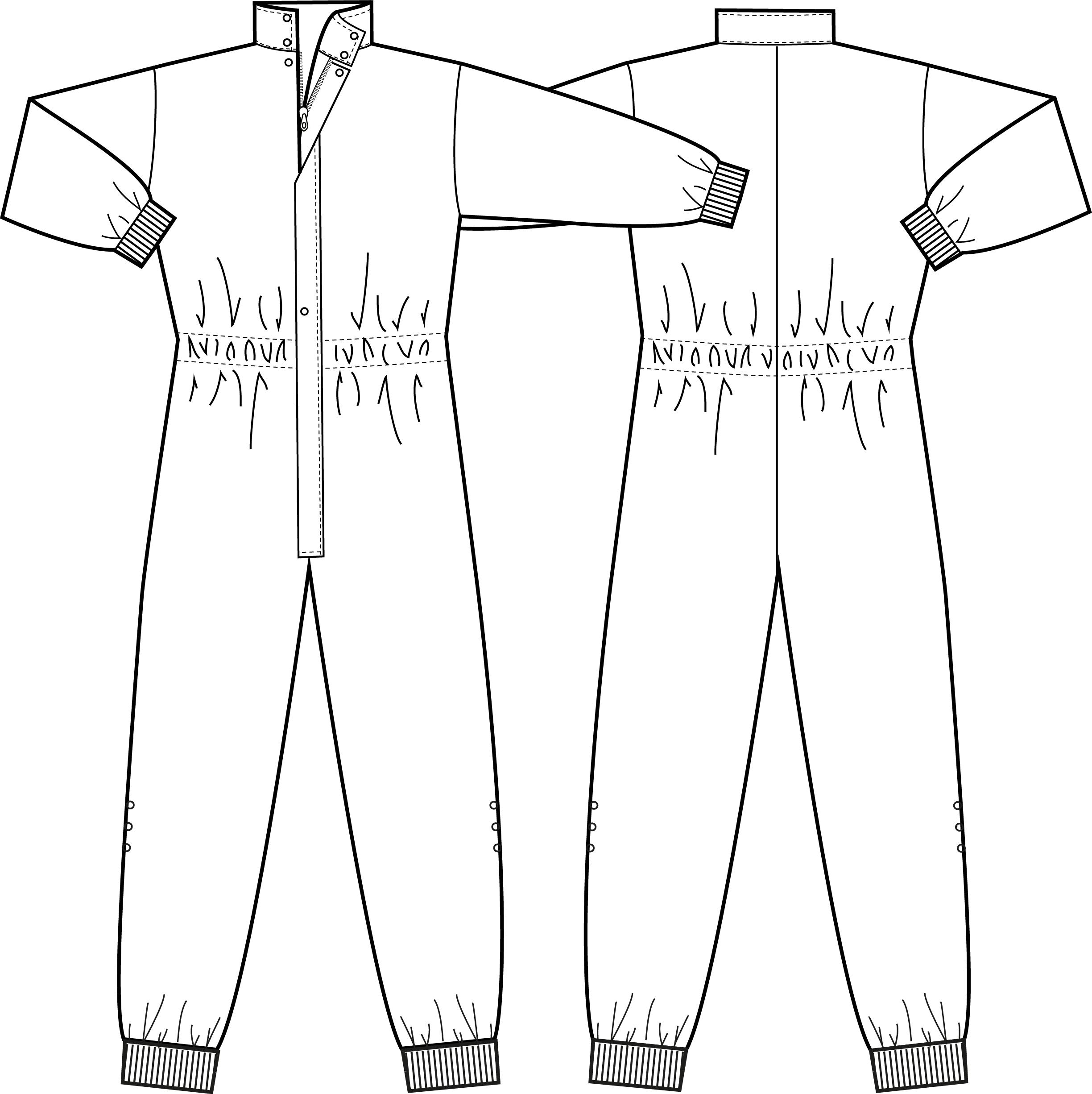Puhdastilahaalari, XL, valkoinen